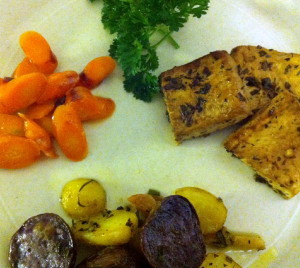 Baked Tofu with Simpson And Vail Lemon Myrtle Herbal Tisane - The ...