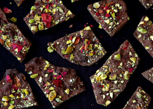 dark-chocolate-bark-with-cardamom-pistachios-and-rose-petals