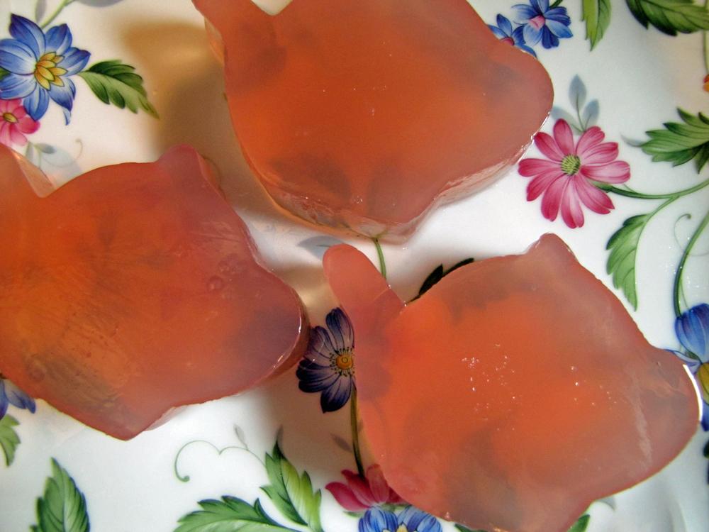 Orange Cranberry Jello
