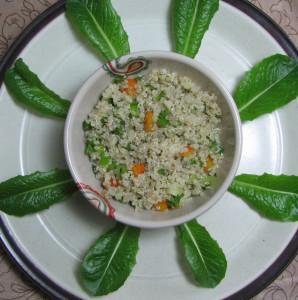 Moringa Quinoa Salad