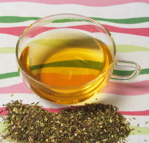 Green Rooibos Brewed