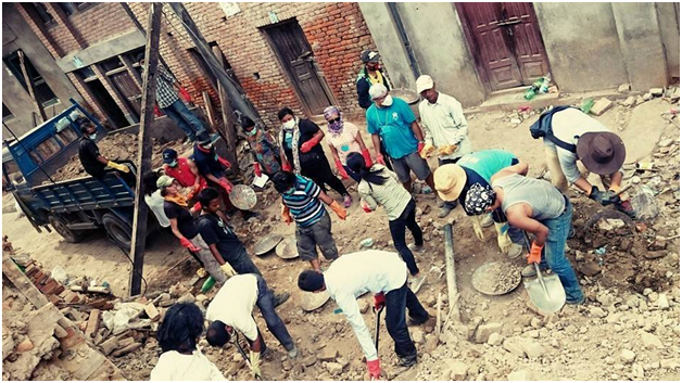 nepal- allina(Satur)day'swork