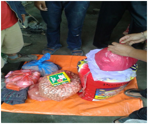 nepal-foodkitchen settarpaulin&mosquitonet