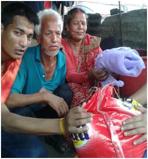 nepal-foodkitchen settarpaulin&mosquitonet1