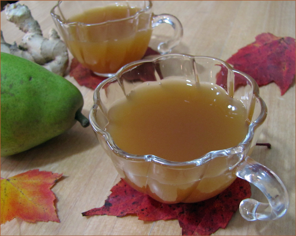 Ginger Pear Tea Toddy
