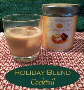 Holiday Tea Blend Cocktail