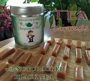 Nutcracker Tea Caramels