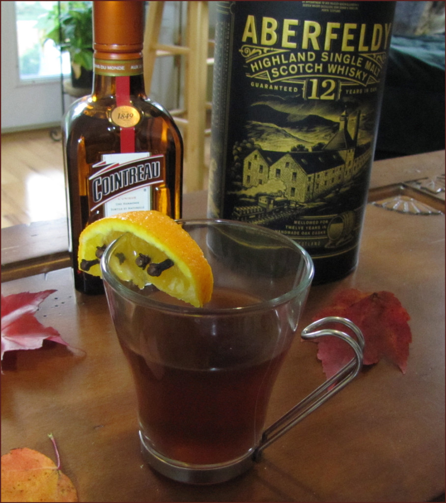 Orange Spice Tea Toddy