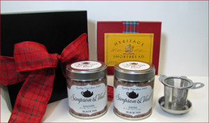 Celtic Loose Tea Gift Box