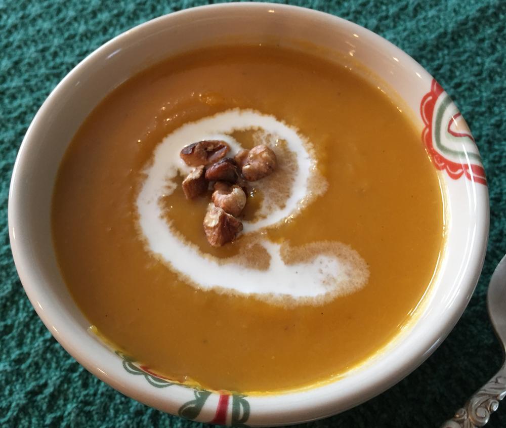 Ben's Butternut Soup with Nepal Black Tea