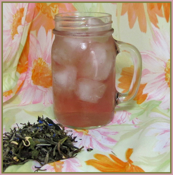 white ambrosia iced tea