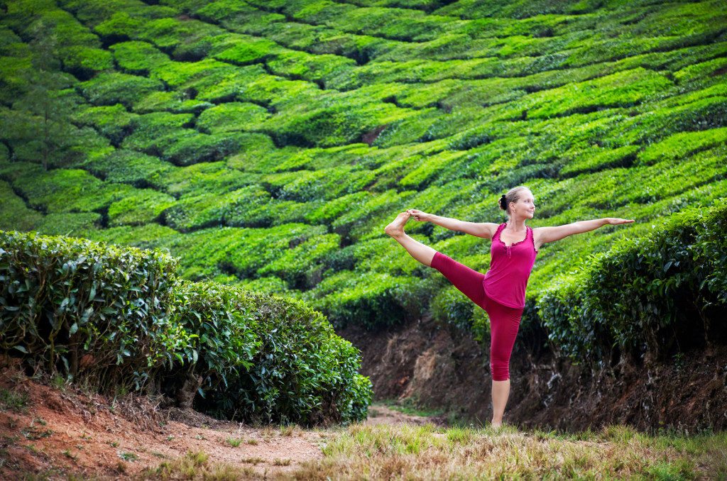 Tea Plantation Yoga