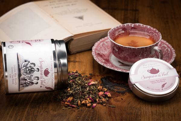 Louisa May Alcott Tea