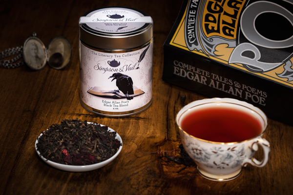 Literary Tea Line Edgar Allan Poe Tea