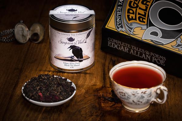 Literary Tea Line Edgar Allan Poe Tea