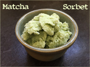 Matcha Green Tea Sorbet