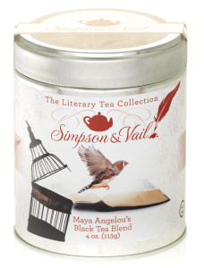 Maya Angelou Tea Tin