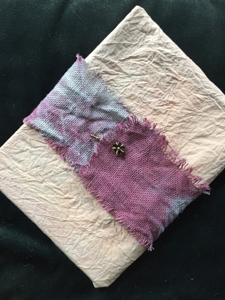 Tea Dyed Gift Wrap