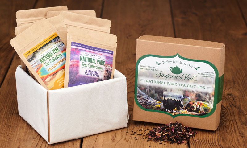 National Parks Tea Gift Box