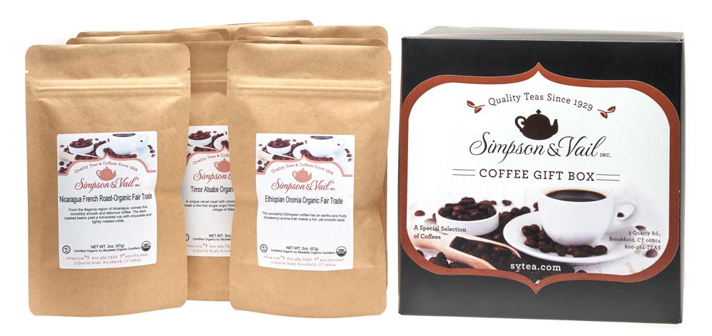 S&V Coffee Sampler Gift Box